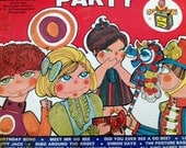 1960's Romper Room Birthday Party Games and Songs Vinyl LP