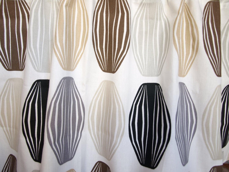 curtain panel white grey beige brown black paper lamps cafe. Black Bedroom Furniture Sets. Home Design Ideas
