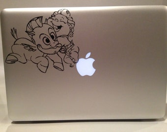 Disney's Hurcules: Young Hercules and Pegasus VInyl Decal