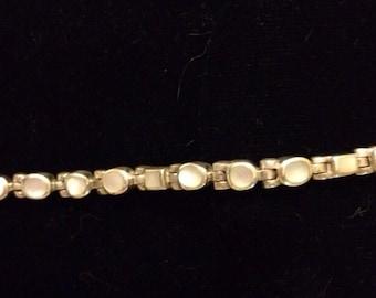 Sterling silver moonstone bracelet (reduced!)