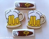 Beer and Cigar Cookies