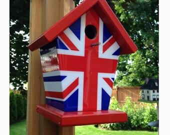 Union Jack Birdhouse