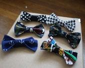 Little boys clip on bow ties