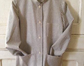 Indigo Stripe Field Jacket