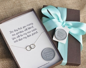 New Sister, Sister in Law, Necklace, Wedding Gift, Shower Gift, Bridal ...