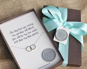 Wedding Gift For Brother And Sister In Law : New Sister, Sister in Law, Necklace, Wedding Gift, Shower Gift, Bridal ...
