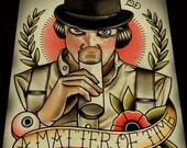 """A Matter of Time (A Clockwork Orange) Art Print 11""""x14"""""""