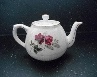 oVintage English Teapot Tea Party Decorative Teapot China Teapot English Teapot Cottage Chic English Country Decor Shabby Chic Teaot