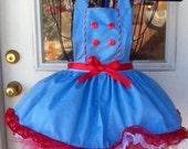 Starlight childs apron. my inspried apron
