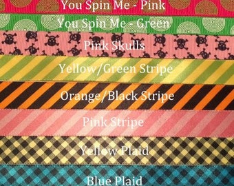 """Custom Dog Collar -  Design Your Own - 3/4"""" or 1"""" Wide Martingale or Buckle"""