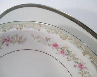 Vintage Mismatched China Serving Pieces - Set of 2