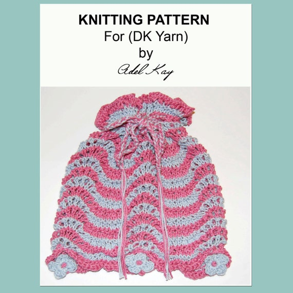 Knitting Pattern Makeup Bag : Items similar to Knitting Pattern PDF Document Loretta Draw String Dorothy Ma...