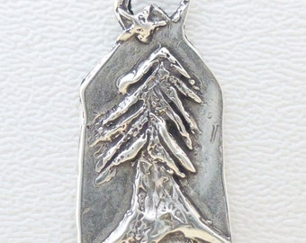 ONE Sterling Pendant - Grow Strong and Follow Your Star
