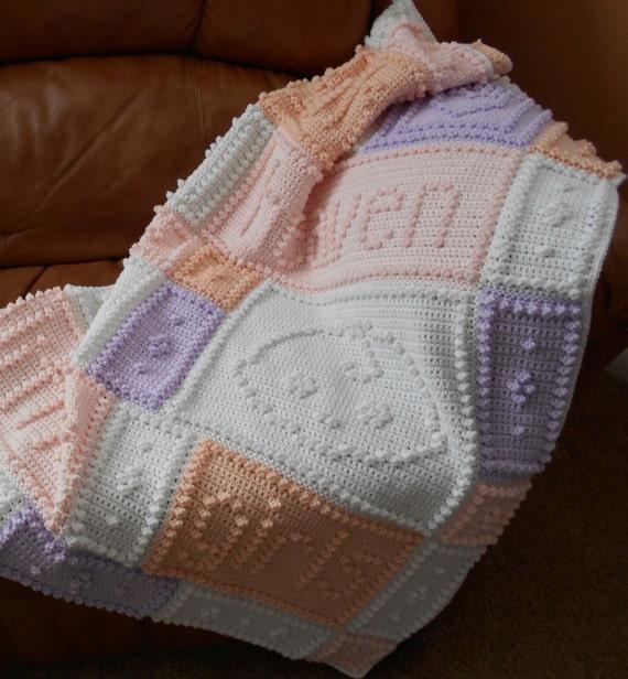 Heaven Pattern For Crocheted Blanket