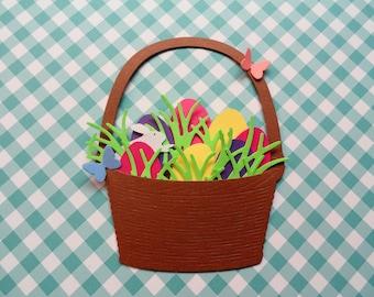 Easter Basket Die Cuts Set 0f 4