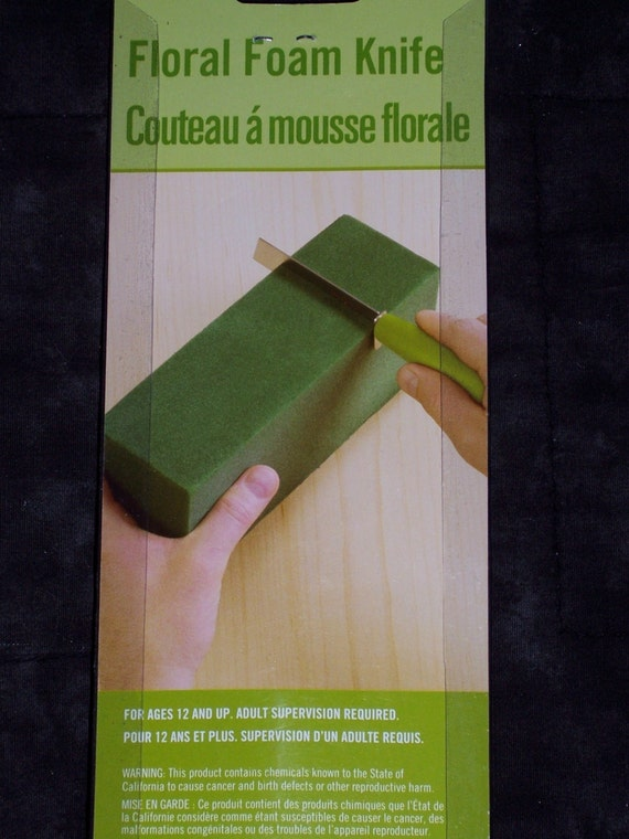 Floral foam knifefloracraftcuts wet or dry