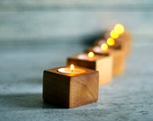 Wood tea light, Candle holder, Wood planter, Wedding decor, Christmas gift, Candle Holder, Votive candle, Small wood bowl, wood Centerpiece
