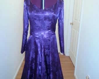 Purple Princess Renaissance Dress