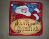 The Night Before Christmas cloth childrens book