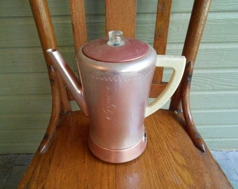 1950s Aluminum West Bend Percolator