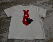 Mickey tie boys shirt/onesie