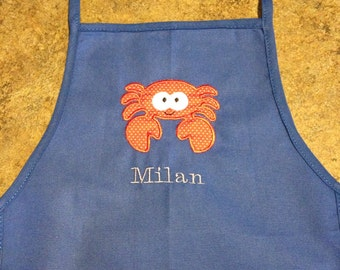 PERSONALIZED Toddler Apron/Smock