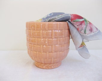 Haeger Pottery Flower Pot, Ceramic Planter, Haeger USA 131 Planter Flower Pot