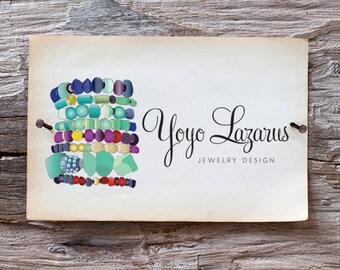 Custom Hand Drawn Business Logo -  Detailed Illustrated Logo Design