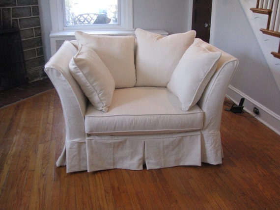 Custom Slipcover for any oversize chair labor plus fabric
