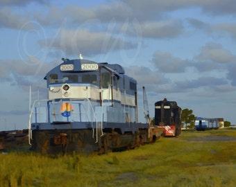 Train in Cape Charles Virginia