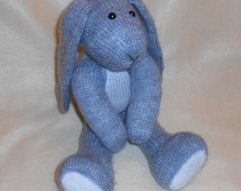 Bunny Knitted Toy Pattern (an extremely soft, huggable and cute toy)