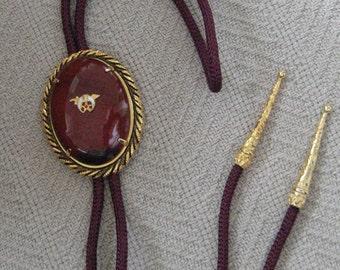 Vintage Shriners Bolo Tie 70s - ECS
