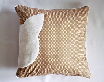 """cat cushion, cat bed, dog bed, pet bed, dog pillow, cat pillow with filling """"points"""""""