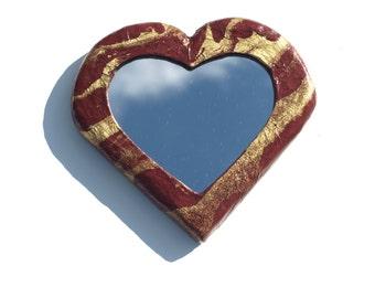 Heart Shaped Mirrors Etsy