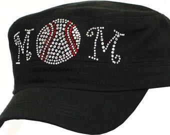 Baseball mom hat