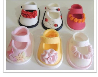 Baby Girl Booties PDF Tutorial