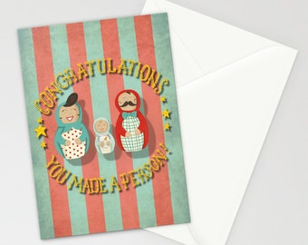 You Made A Person! New Baby Card