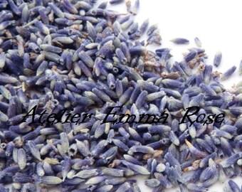 1lb Premium SUPER BLUE LAVENDER, 75/25, 50/50, Organic Dry Wedding Flower Biodegradable Toss Sachet Bridal Shower Favor French Bulk Purple