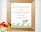 Nursery Printable with sweet and inspiring message. Unique illustration and print instantly at home - great for those on a budget.