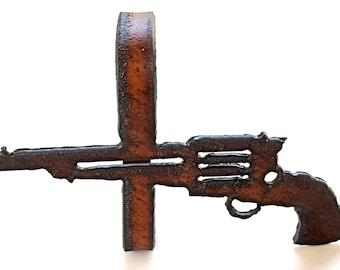 Six Shooter Napkin Rings (Set of 2)