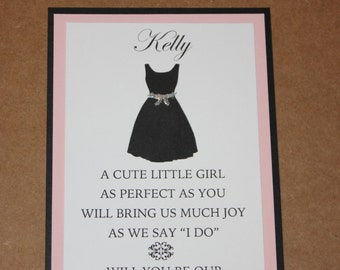 Will You Be Our Flower Girl Card with Envelope