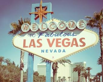 Las Vegas Art Photography, Las Vegas Decor, Las Vegas Strip Print, Las Vegas Strip Photo 8 x 10