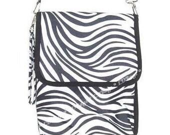 Ipad Nook Ereader Kindle  Tablet Bag Zebra