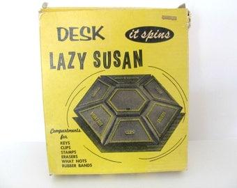 Popular items for desk caddy on etsy - Lazy susan desk organizer ...