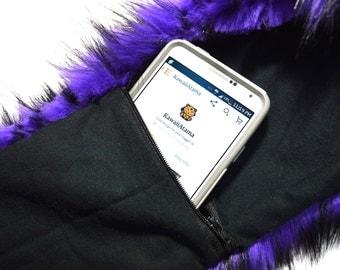 Extra Stash Zipper Pocket