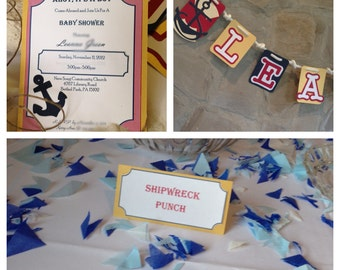Nautical Theme Party Package