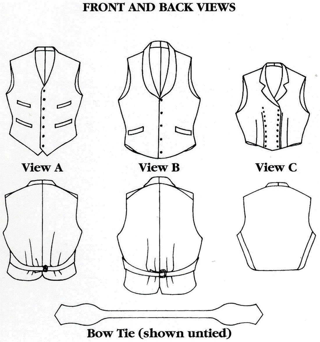 Folkwear vintage vests bow tie victorian style for men women gallery photo gallery photo gallery photo jeuxipadfo Images