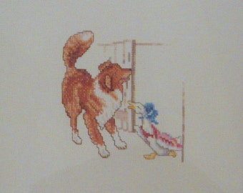 beatrix potter  jemima puddle duck and kep the dog cross stitch CHART INSTRUCTIONS ONLY lakeland artist new