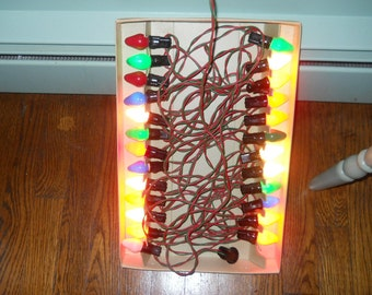 Royalites 1950 string of 25 lights never out of the box