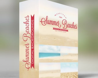 Summer Beaches - Digital Backdrops